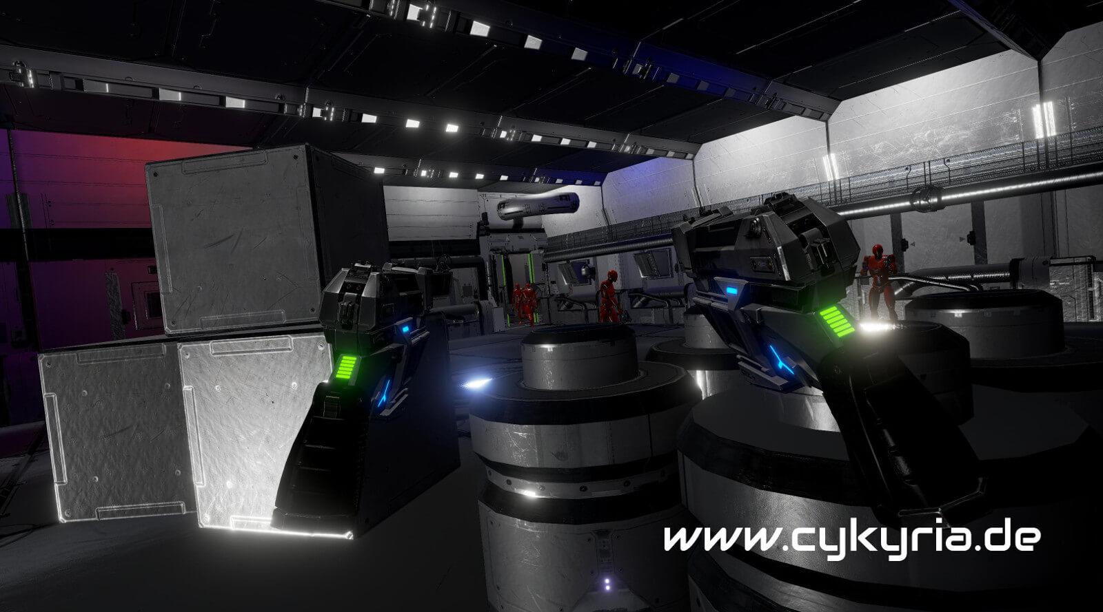 virtual reality spiele aus n rnberg f r messen und events cykyria. Black Bedroom Furniture Sets. Home Design Ideas
