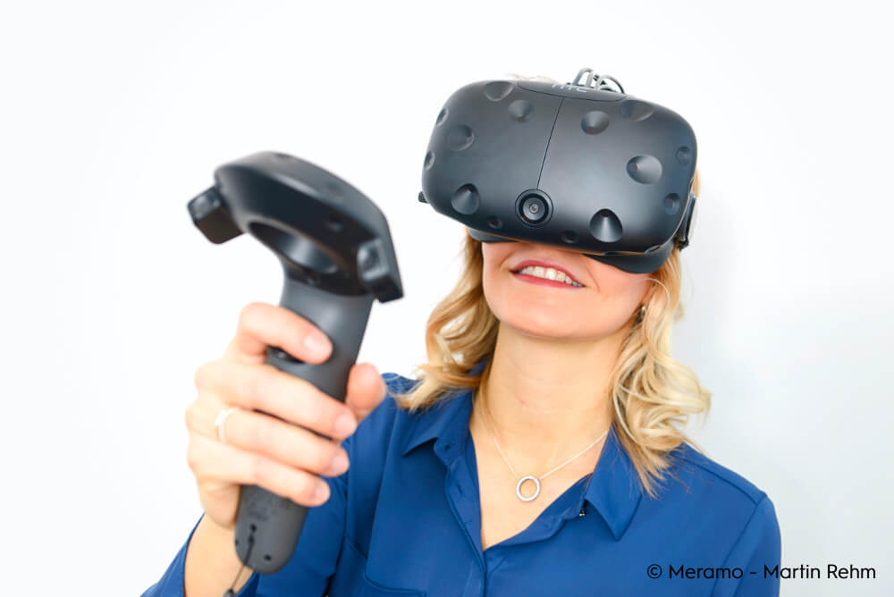 Virtual Reality mieten Cykyria HTC Vive Roomscale