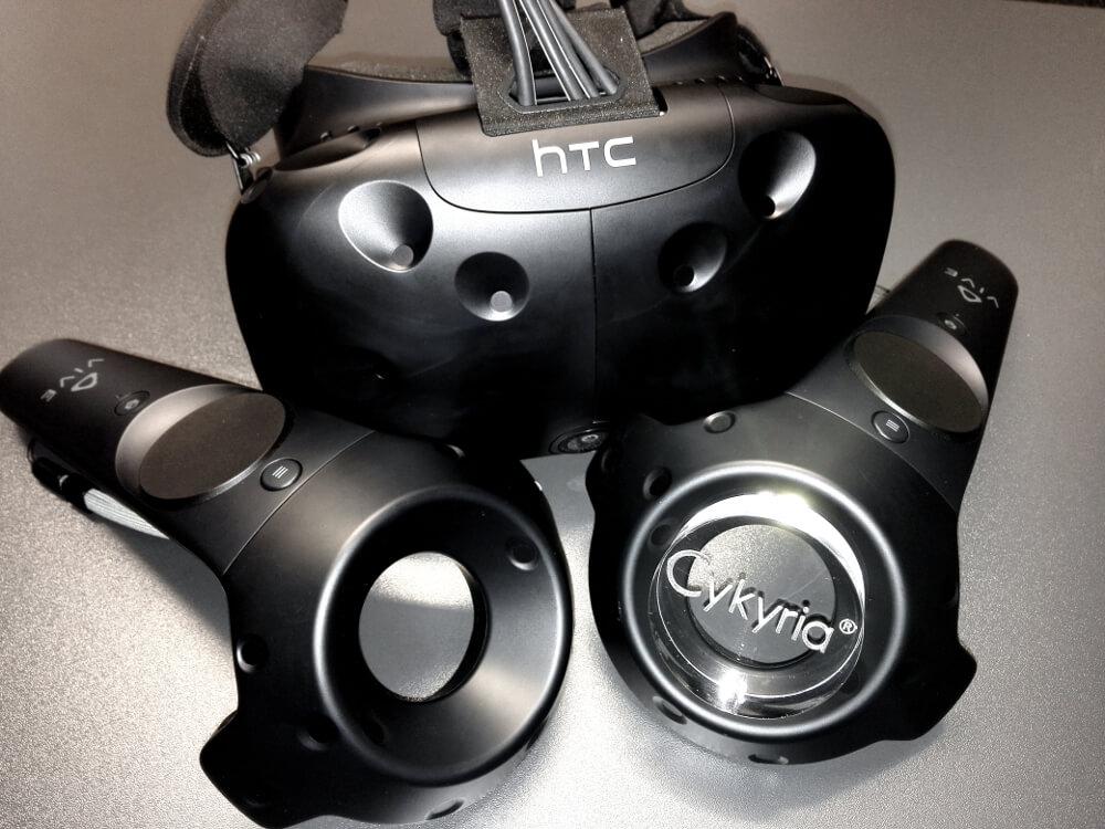 Cykyria HTC Vive Virtual Reality