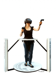 Women in Cyberith Virtualizer powered by Cykyria