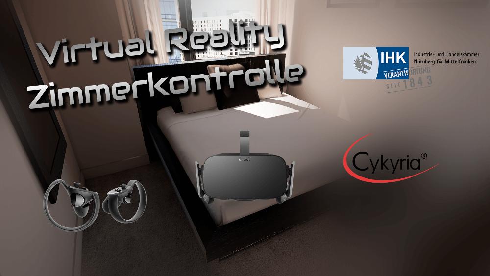 Virtual Reality Zimmerkontrolle Cykyria IHK Nürnberg