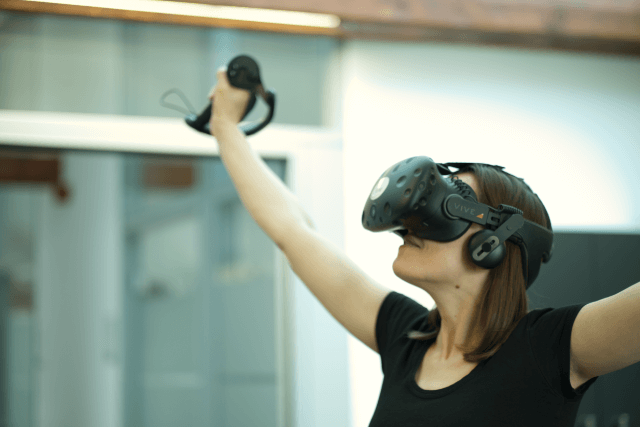 Roomscale VR mit HTC Vive powered by Cykyria
